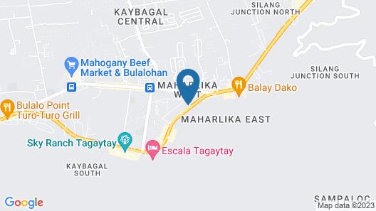 Cozy Staycation Tagaytay Wind Residences Map