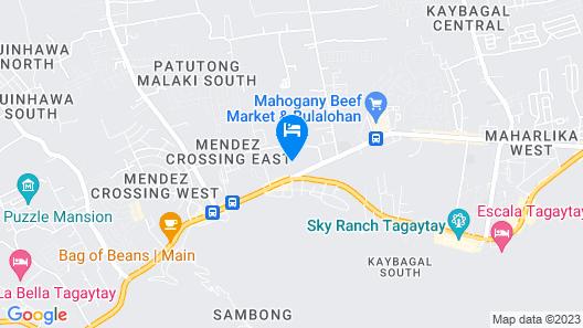 RedDoorz @ East Mendez Tagaytay Map