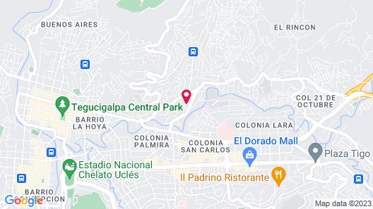 Hotel Alsacia Map