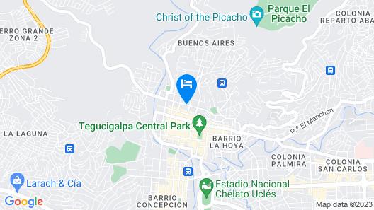 Hotel Mac Arthur Map