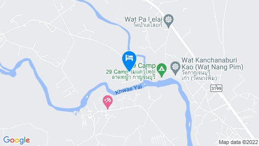 Island Resort River Kwai by October Map