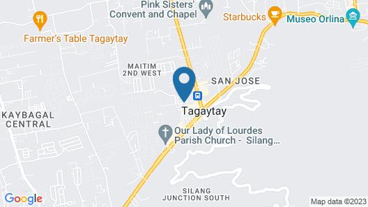 Quest Hotel Tagaytay Map