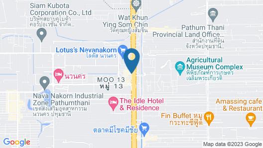 Navanakorn Golden View Map