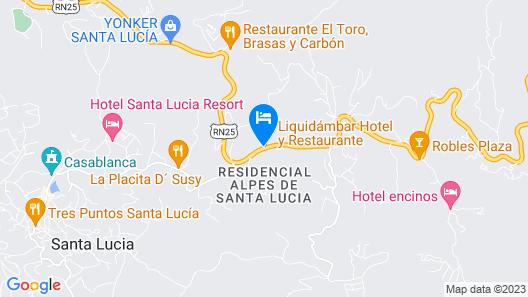 Liquidambar Hotel Map