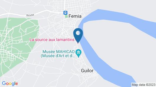 La Source Lamentin Map
