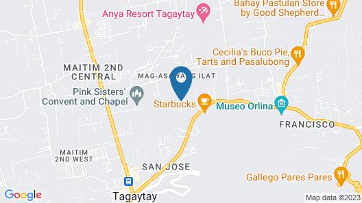 Moon Garden Tagaytay Map
