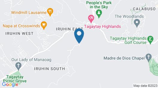 Alta D' Tagaytay Hotel Map