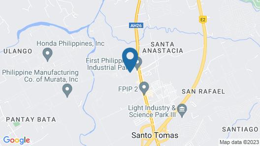 Microtel by Wyndham Batangas Map