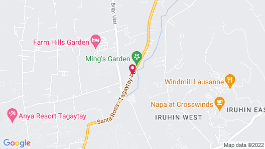 RedDoorz @ Tagaytay Road Map