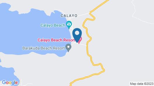 Calayo Beach Resort Map