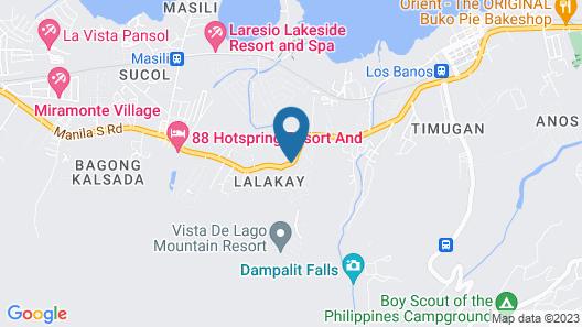 Splash Mountain Resort Hotel Map