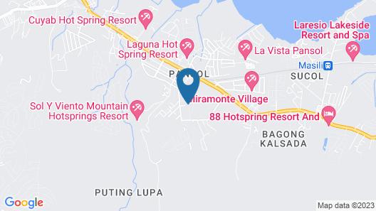 Anton's Loft Designer Resort Pansol Map