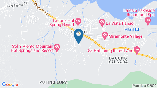 Summer Palace Hotspring Resort Map