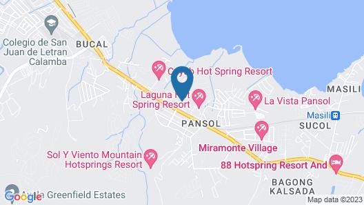 RedDoorz @ Solemar Pansol Calamba Map