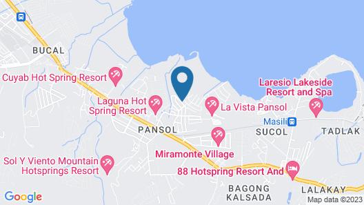 Dreamwave Resort Pansol Map