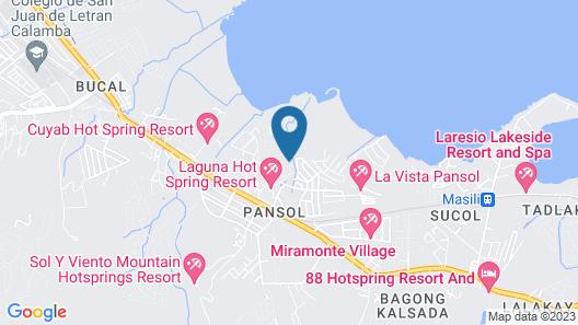 Villa Tagumpay Resort Map