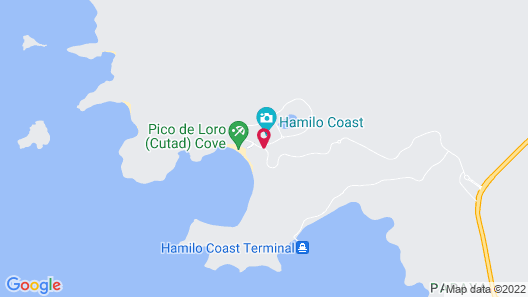 Pico Sands Hotel Map