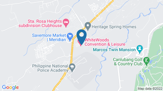 RedDoorz Premium @ Sta Rosa Tagaytay Road Map