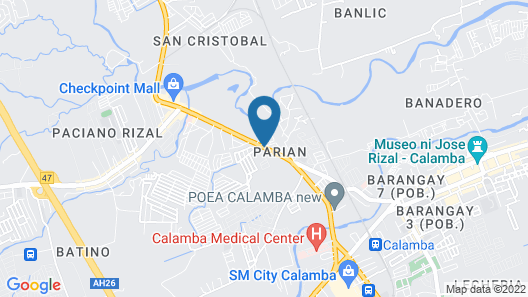 Calamba Pension Plaza Map