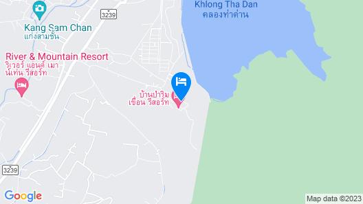 OYO 1167 Ban Pa Rim Khuean Map