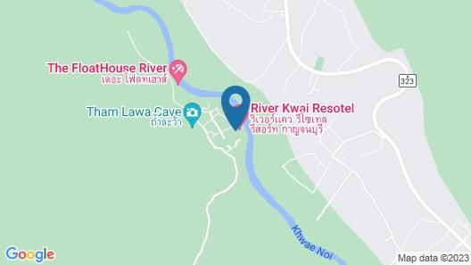 River Kwai Resotel Map