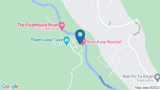 The FloatHouse River Kwai Map