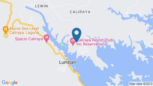 Caliraya Resort Club Map