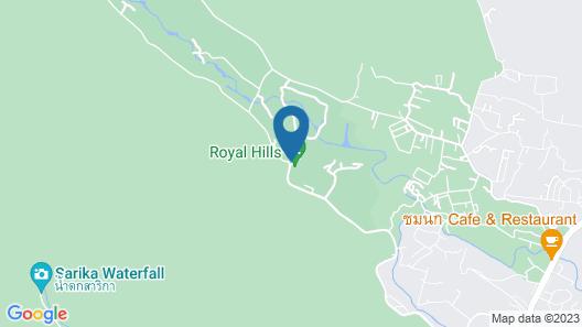 Royal Hills Golf Resort and Spa  Map