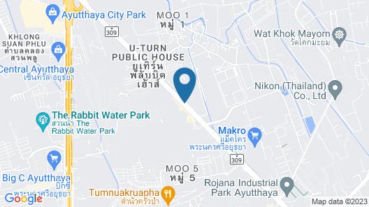 Green Residence Ayutthaya Map