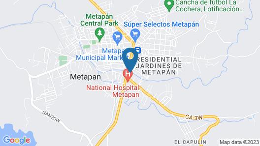 Hotel San Jose Map