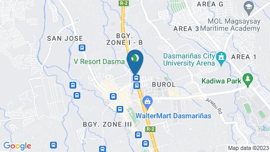 V Resort Dasma Map