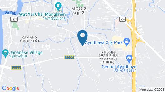 Baan Yudya Map