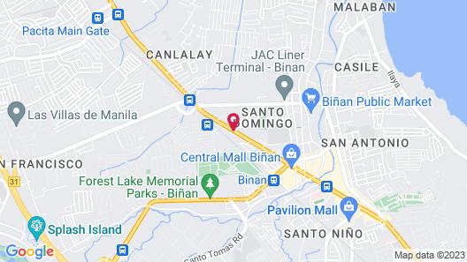 OYO 195 Ranchotel - Binan Map