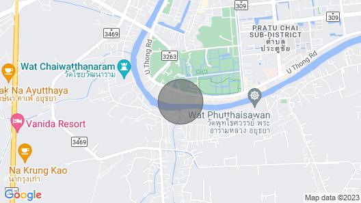 Unique Thai Teak House on the River Map