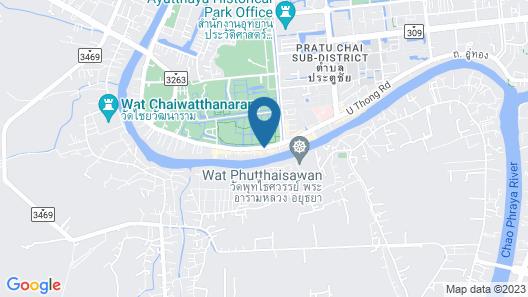 Baan Keang Chon Ayutthaya Map