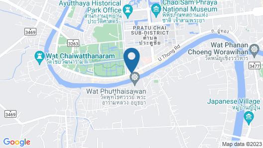 Sala Ayutthaya Map