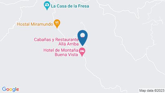 Cabañas Alla Arriba Map