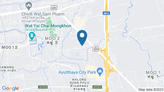 Kantary Hotel and Serviced Apartments, Ayutthaya Map