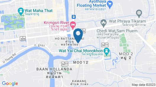 Woraburi Ayutthaya Resort & Spa  Map