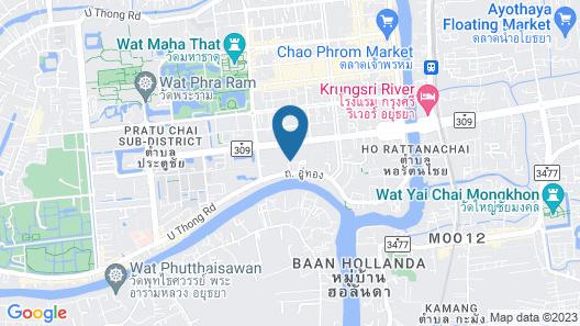 Banchan Hostel Map