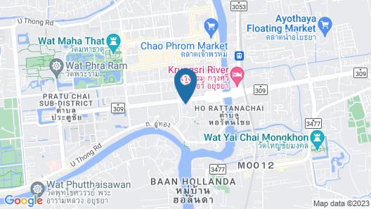 Ayutthaya Place Map