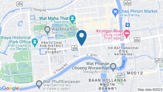 Moradok Thai Guesthouse - Hostel Map