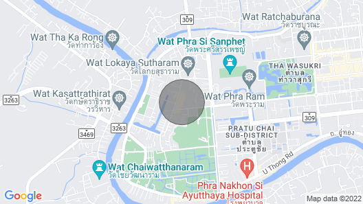 Thai House best river view Map