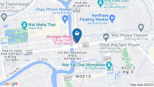 Krungsri River Hotel Map