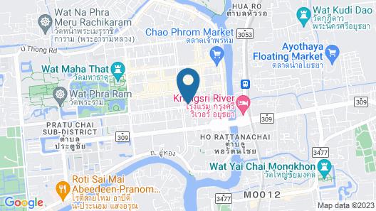 Patone Hostel Map