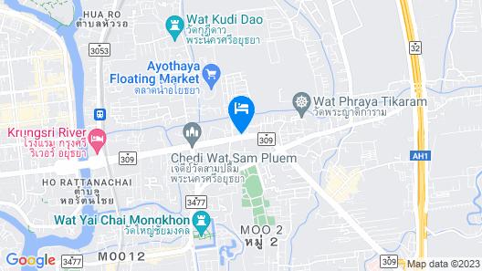 Classic Kameo Hotel & Serviced Apartments, Ayutthaya Map
