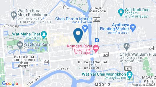 Baan Khun Ya Ayutthaya Map