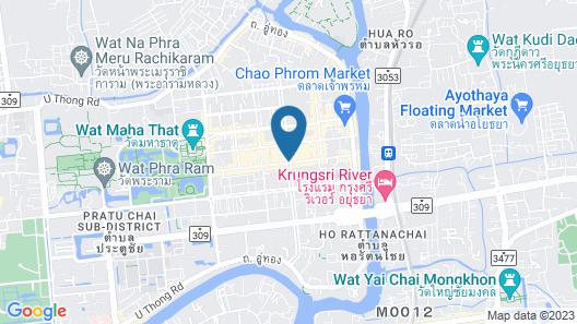 OYO 692 Nakara Ayutthaya Map