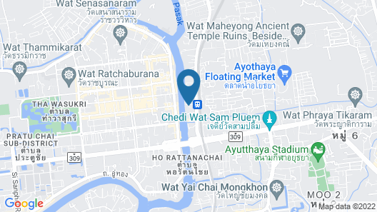 Baan Are Gong Riverside Homestay Map