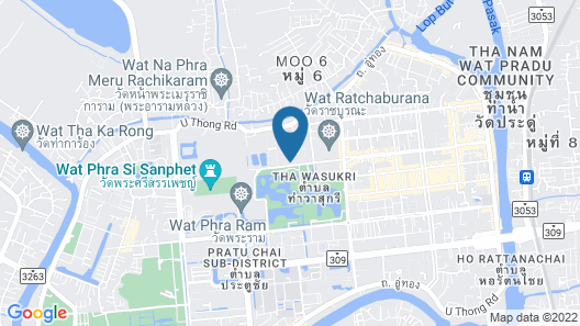 The Park Ayutthaya Resort and Spa Map
